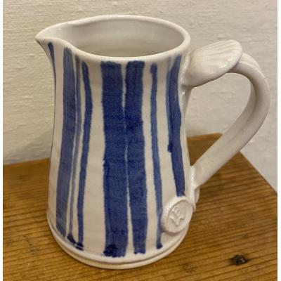 Blue Stripe Jug