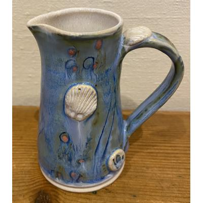 Tiny Blue Jug