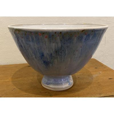 Large Dark Blue Bowl