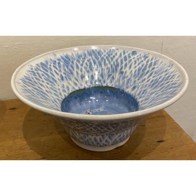Large Fish Scale Bowl