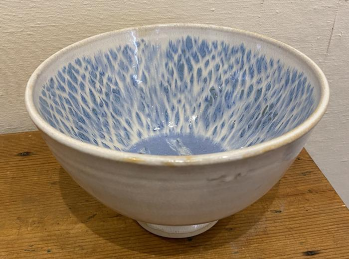 Bowl With Fish Tail Interior
