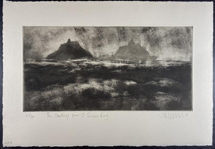 The Skelligs From St Finian